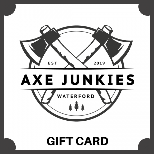 Axe Junkies Waterford Gift Card
